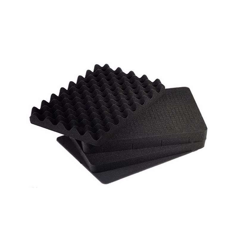 Pre-cut foam easy cut for plastic tool case box