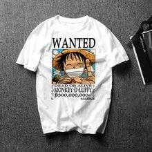 2019 Summer New Japan Anime One Piece Luffy Zoro T Shirt Mal