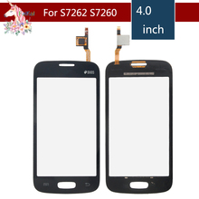 For Samsung Galaxy Star Pro S7262 GT-S7262 S7260 GT-S7260 Touch Screen Digitizer Sensor Front Glass Lens Panel Replacement