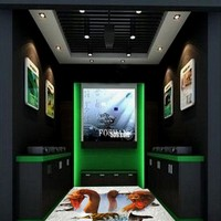Free Shipping custom 3D floor outdoor horror series thief pictures bar KTV corridor Self adhesive flooring mural wallpaper
