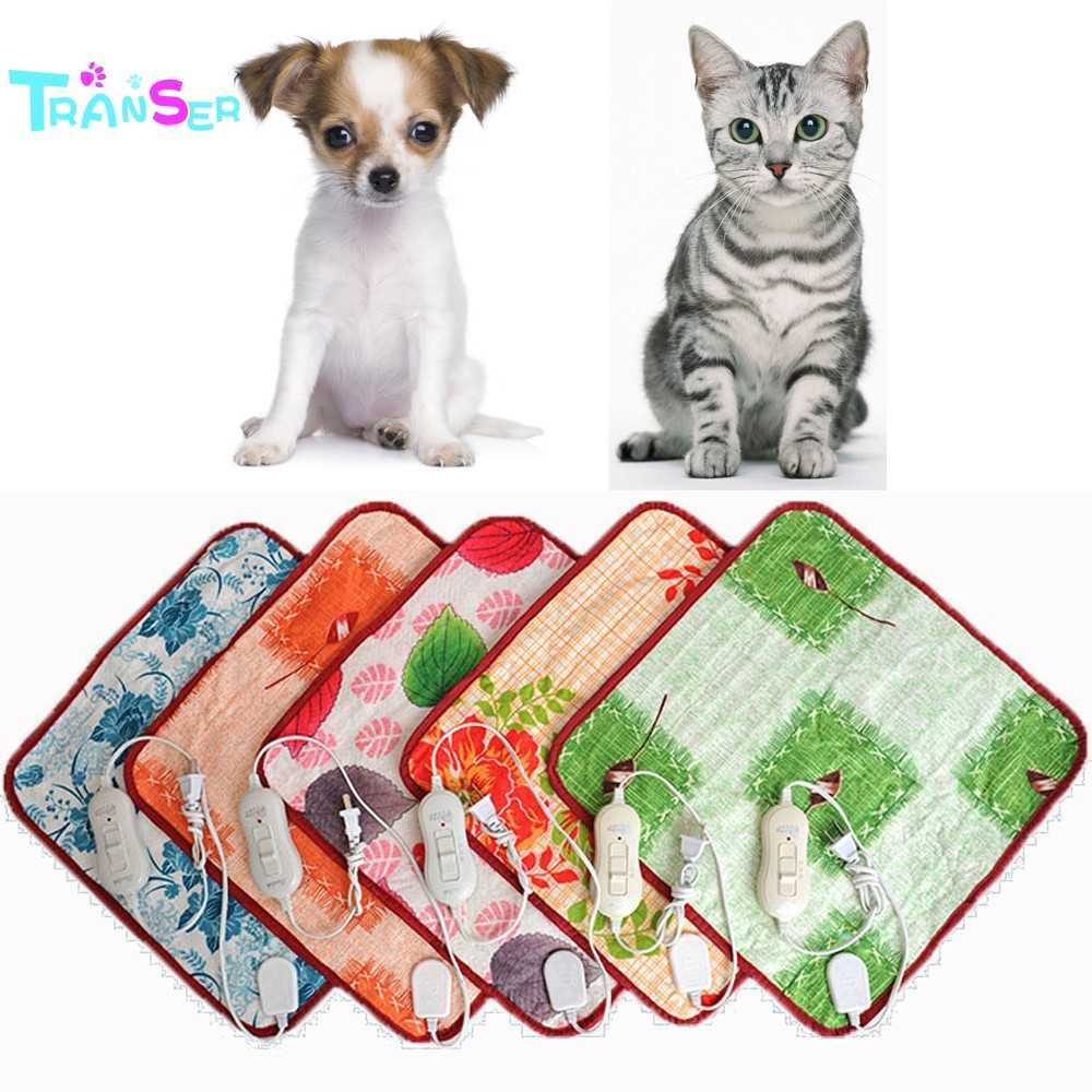 2019 Transer Creative Hot! 40*60cm Pet Warm Electric Heat Heated Pad Mat Blanket Bed Dog Cat d6m30
