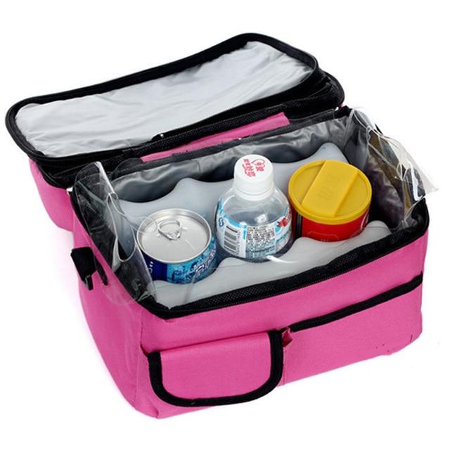 1pc Waterproof  Lunch Bag Picnic Lunchbox Cooler Bags Thermal Bag Food Bags New 2016 -- BIB063 PMP Wholesale