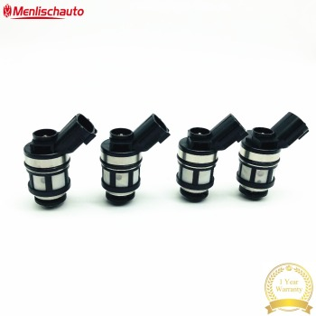 4pcs Great Impedance Fuel Nozzle 16600-38Y10 JS23-1 For Japanese Car Patrol 4.5L
