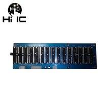 EQ ECUALIZADOR DE tono profesional, placa de preamplificador estéreo, frecuencia ajustable, etapa 5/10/15 vías