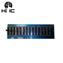 EQ Equalizer Stage 5/10/15 Way Professional Tone Preamplifier Board Preamp Stereo Adjustable Frequency
