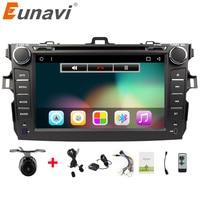Eunavi 2 Din Android 6.0 auto dvd-speler Voor Toyota corolla 2007 2008 2009 2010 2011 in dash auto radio gps video wifi bluetooth