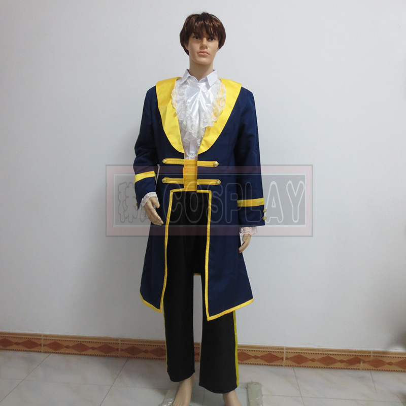 Free shipping Custom-made High quality Beauty and the Beast Adult Costumes Prince Adam Cosplay