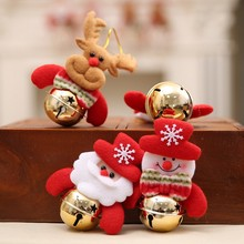 Doll Hanging-Pendant Anime Home Xmas Snowman Christmas-Bell Elk Slime Party-Ornament