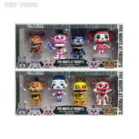 4 Pcs/Set 10 Cm Game Five Nights At Freddy's Action Figure High Quality Toys Foxy Freddy Chica PVC Model Dolls Kids juguetes