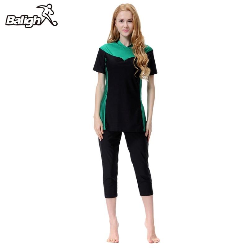 Kleidung Hosen Volle Abdeckung Plus Größe Bikinis S-3xl SchöN Balight 3 Teile/satz Muslimische Frauen Mädchen Bademode Hut