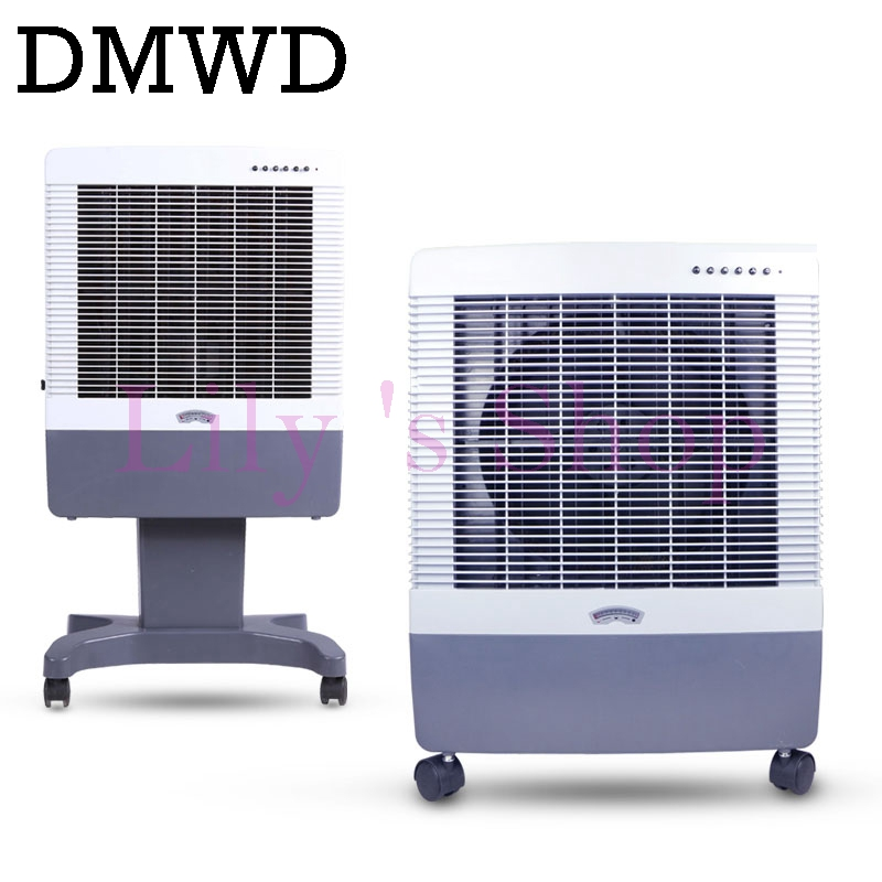 DMWD Air cooling fan portable air conditioning cooler floor standing electric Conditioner fans single cold Cool Summer EU plug portable 8 pin air fan