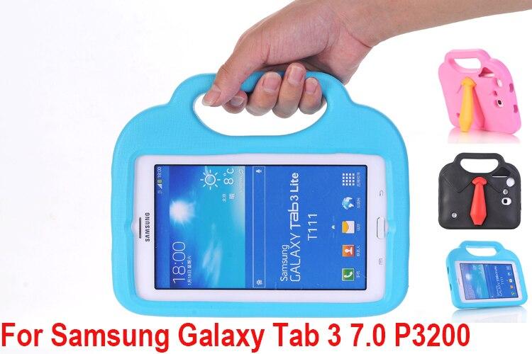 EVA Foam Shockproof Washable Case for Samsung Galaxy Tab 3 7.0 P3200 P3110 Cover Good for Kids Children Tablet Protector Case радиатор охлаждения газ 3110 медный 3 рядный