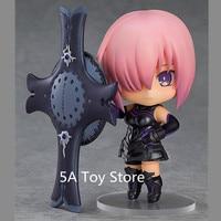 Anime Figure Fate Grand Order Shielder Matthew Kyrielite Q version Nendoroid 664 # PVC Action Figure Collectible Model Toy 10cm
