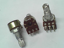 1 pçs/lote Taiwan produz tipo RV12 potenciômetro duplo, A50K comprimento do eixo 15 MM