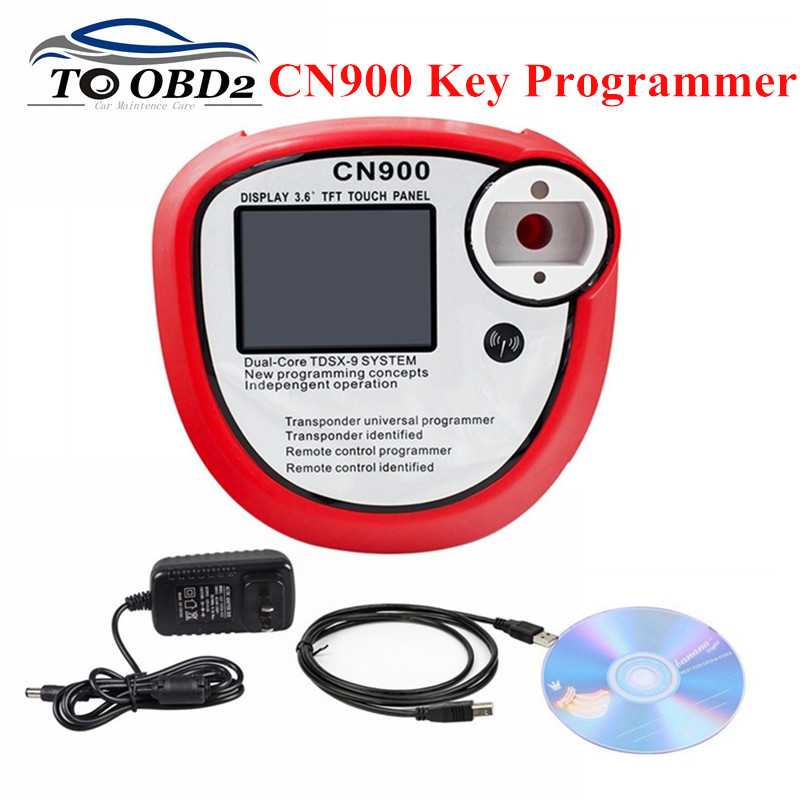 New arrival CN900 Auto Key Programmer V2.02.3.38 OEM cn900 obd2 Auto Diagnostic Tool Supports Copy Chips Transponder Indentified-in Auto Key Programmers from Automobiles & Motorcycles on