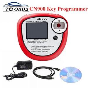 Image 1 - New arrival CN900 Auto klucz programujący V2.02.3.38 OEM cn900 obd2 automatyczne narzędzie diagnostyczne obsługuje kopiowanie chipów Transponder Indentified