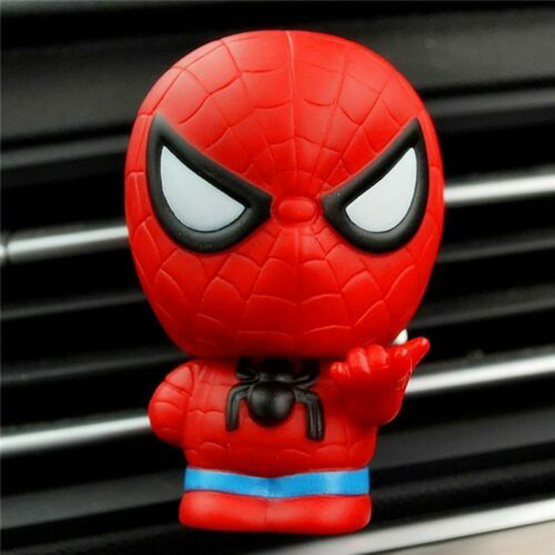Image 5 - Automotive Freshener Car Perfume Clip For The Avengers Marvel Superhero Figures Auto Vents Scent Diffuser In The Car Accessories-in Air Freshener from Automobiles & Motorcycles