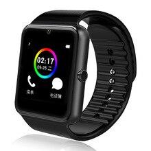 Smartwatch cartão Pode, chamada Bluetooth inteligente sports wear fitness Pedômetro Dormir música relógio Tirar uma foto HD tela sensível ao toque