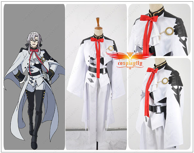 Seraph of the End Ferid Bathory Uniform COS Cloth Cosplay Costume