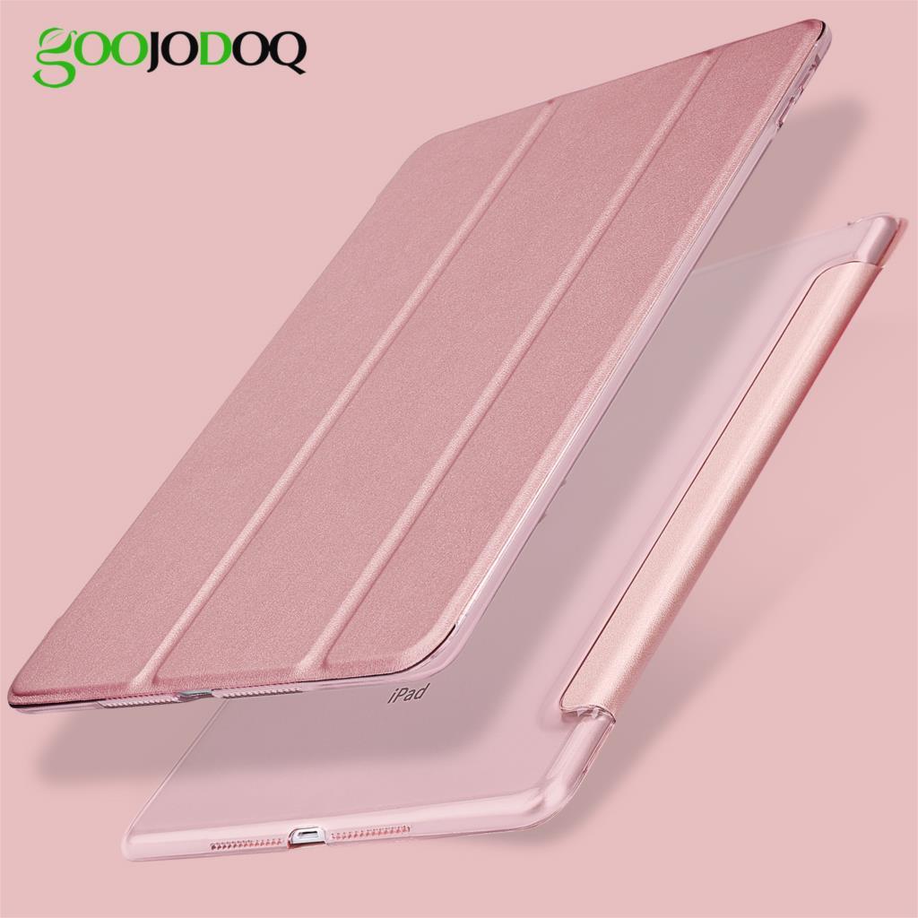 Para iPad 2018 Case 9.7 Light PU Leather + PC transparente Tapa - Accesorios para tablets - foto 6