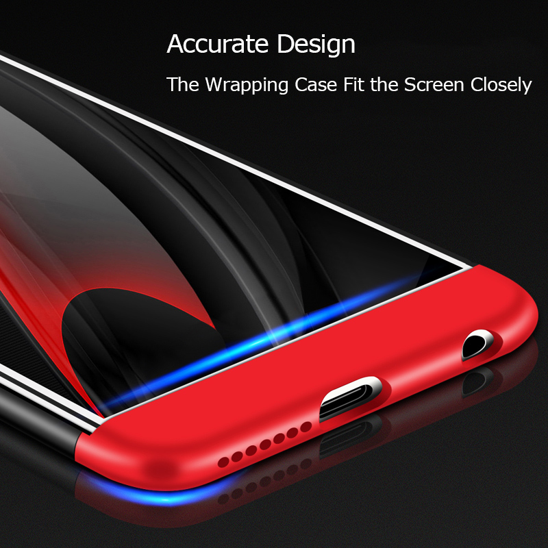 AKABEILA Cover Case For Huawei Honor 7X 8 9 V9 8 Pro 360 Degree Protector Cover Honor7X Honor8 Honor9 Shockproof Phone Shell in Fitted Cases from Cellphones Telecommunications