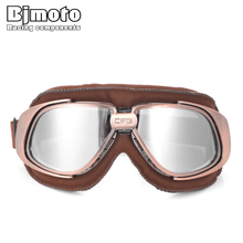 Vintage Dustproof Sunglasses Motorcycle Goggles UV-proof PC Lens Glasses Paintball Outdoor Sports Windproof Eyewear