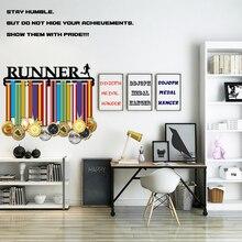 46cm L Runner medal hanger Hold 32+medals Metal holder display rack