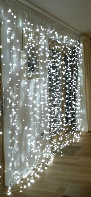 Гирлянда, светодиодная, 3м x 3м, 300 светодиодов|decorative light pull|light coatingdecorating tea lights | АлиЭкспресс