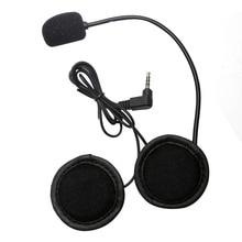 VNETPHONE V4 V6 Шлемы-гарнитуры универсальный мотоцикл Bluetooth Interphone стерео микрофон Динамик зажим для мотоциклетного шлема