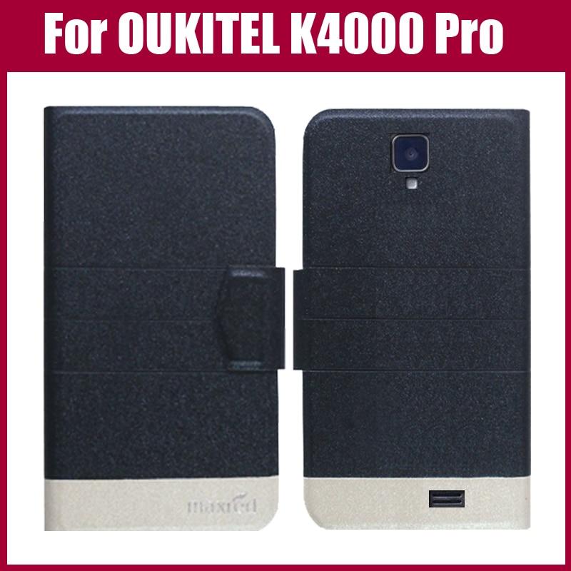 OUKITEL K4000 Pro Case Yeni Gəliş 5 Rənglər OUKITEL K4000 Proq üçün Ultra nazik dəri qoruyucu örtük