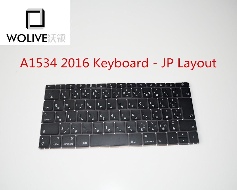 A1534 2016 clavier d'ordinateur portable japonais