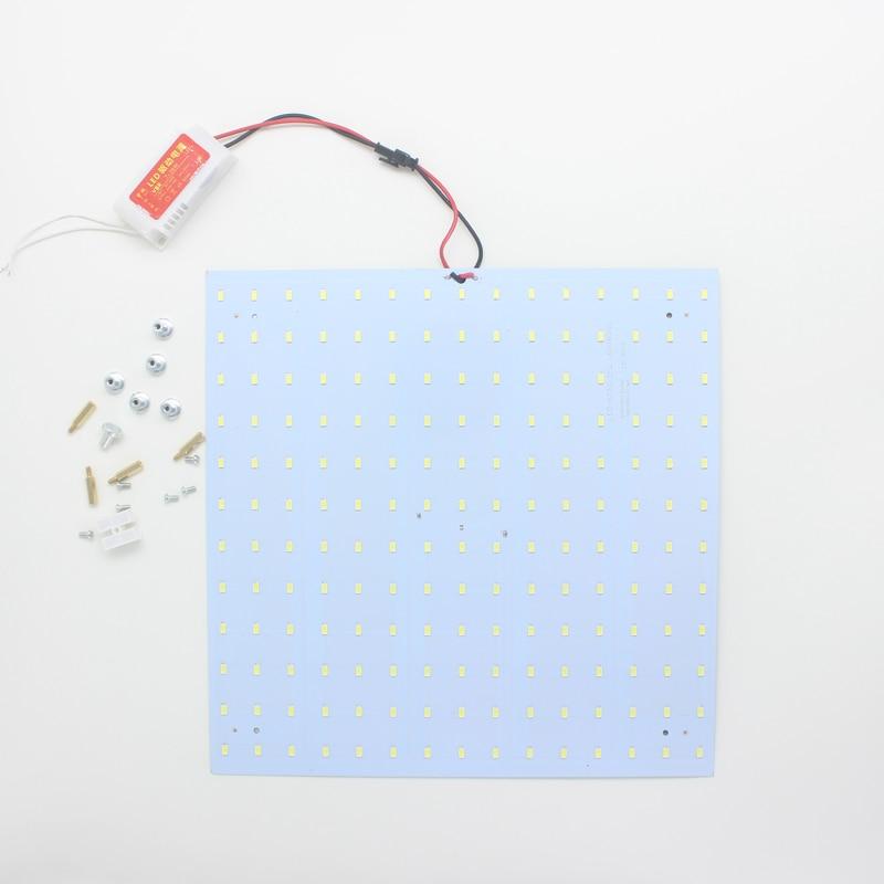 10pcs 180-265V LED Panel Lamp Square 40W 5730 Magnetic LED Ceiling Panel Light Plate Aluminium Board 180 265v square quadrate 35w smd5730 magnetic led ceiling light bulb led board led panel lamps
