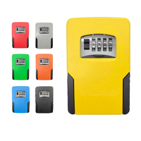 Key Safe Box Password Lock Key Safes Big Space For Outdoor Company Office Home Wall mounted Storage Box