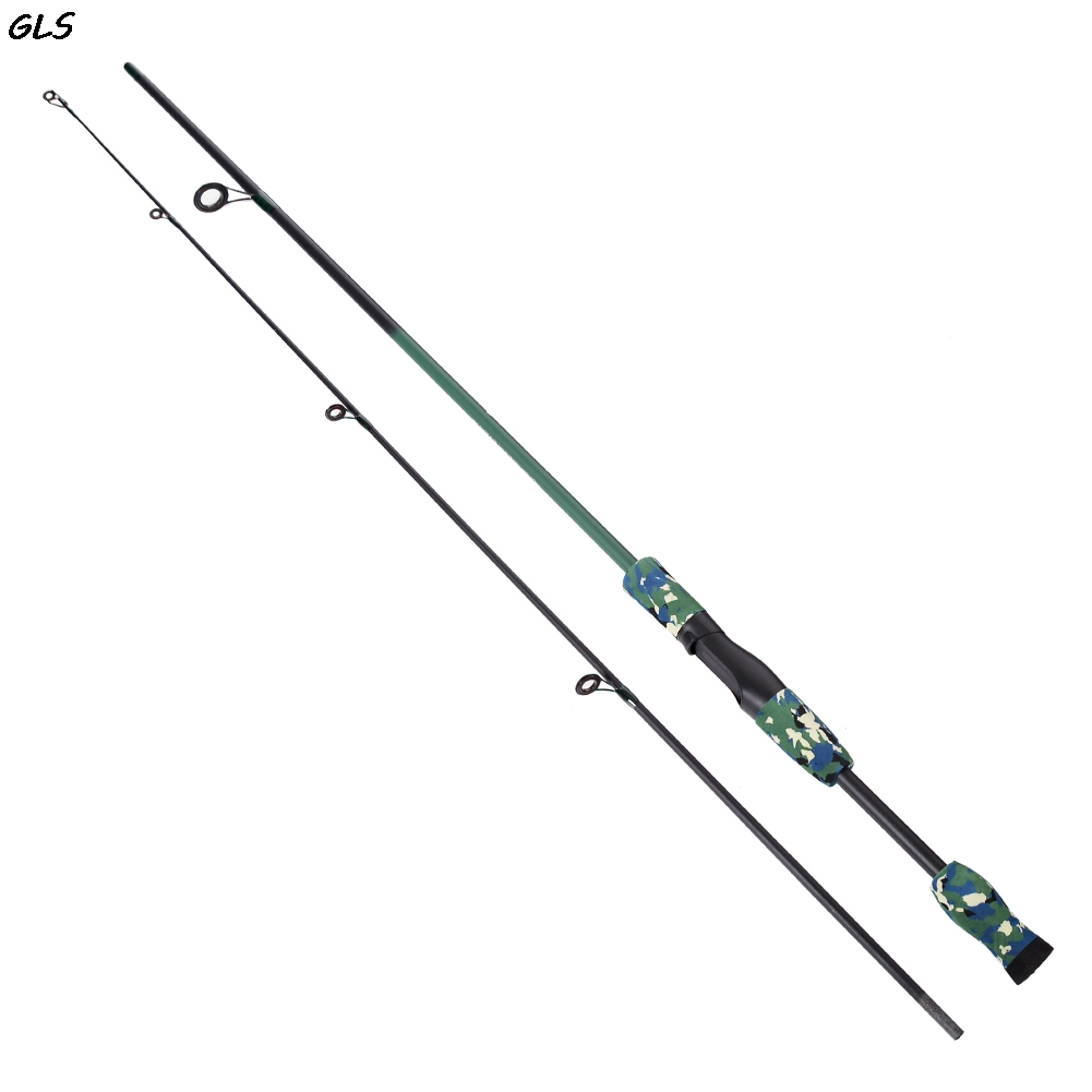 Rod Carbon Body Casting /spinning Fishing Rod 3 Colors 1.8m Carbon Fiber Camouflage Lure Rod High Standard In Quality And Hygiene Fishing