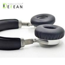 Defeanเปลี่ยนDIYเบาะผ้าหูหมอนสำหรับM Eizu HD50 HD 50ไฮไฟหูฟัง
