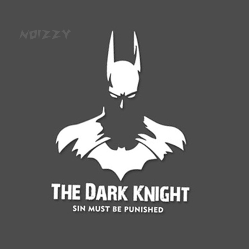The Dark Knight Logo Batman Avengers Vinyl Reflective Car Auto Decal Sticker Cover Windshield Window SUV Van Car-Styling Tuning