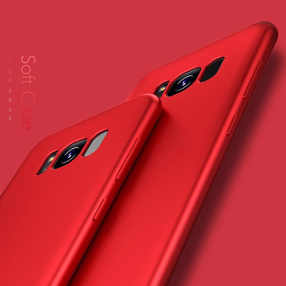 Чехол для samsung Galaxy S8 S8 плюс S9 плюс ультра тонкая кожа почувствовать роскошь силиконовый чехол для samsung Galaxy S6 s7 край A3 A5 2017