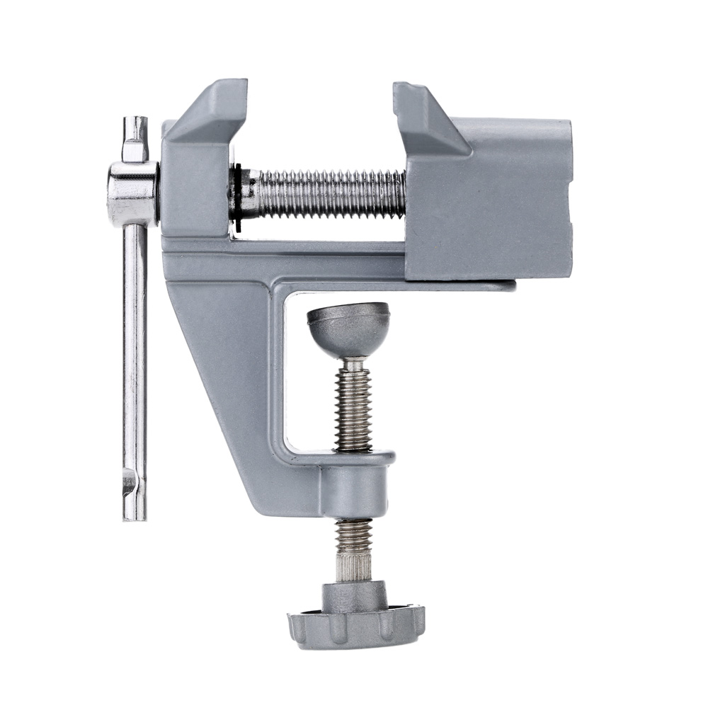 New Portable Bench Vise Mini Table Vise Electric Drill Stent Clip On