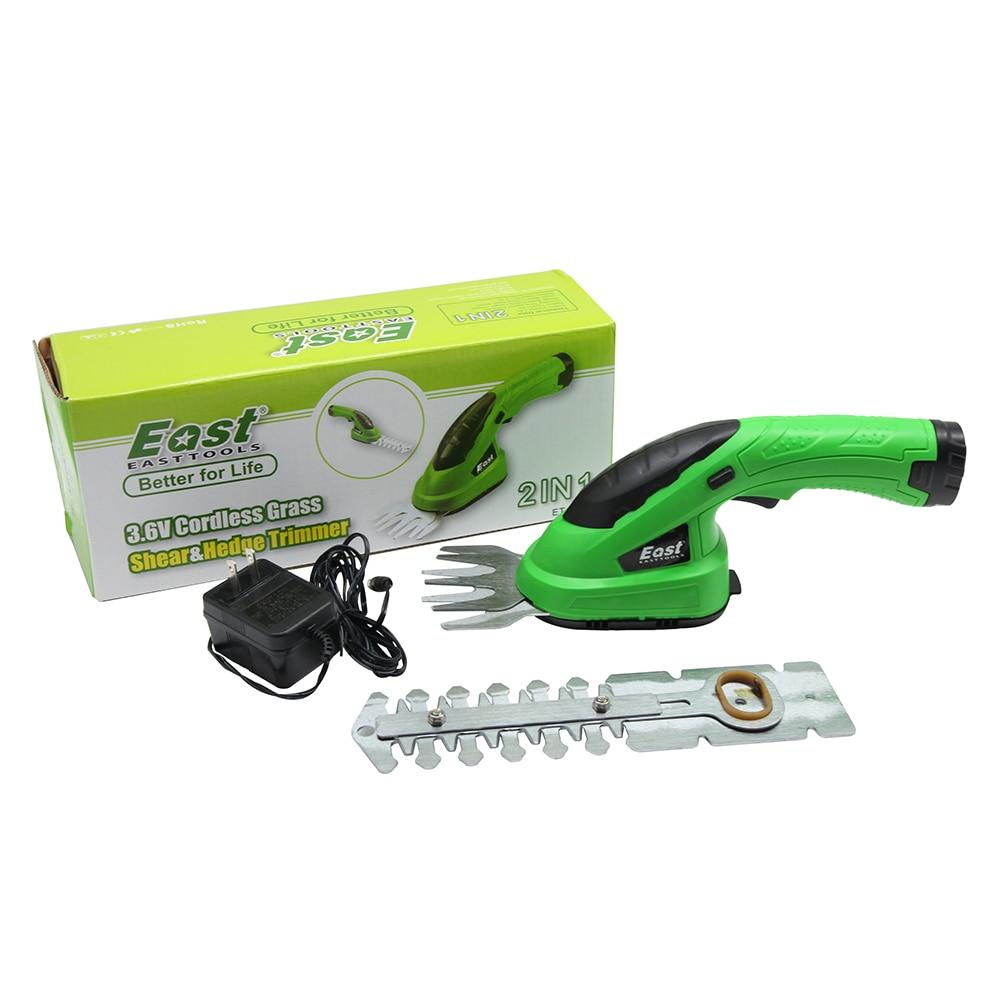 cortador de grama li-ion recarregável hedge trimmer