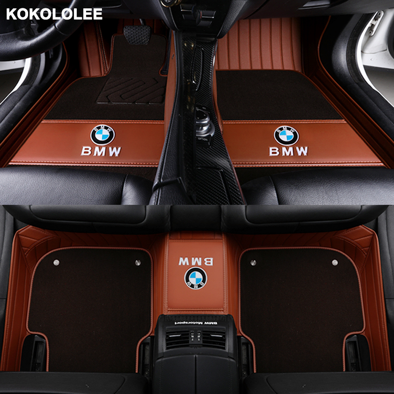 Kokololee de la alfombra del coche todos los modelos para Skoda octavia fabia rápida excelente kodiaq yeti estilo de coche accesorios de coche piso mat