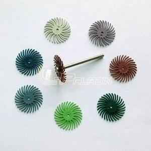Image 3 - 8 peças abrasivo ponto slot cabeça de moagem escultura em madeira espelho polimento dremel ferramentas rotativas acessórios 1 peças 3mm mandril