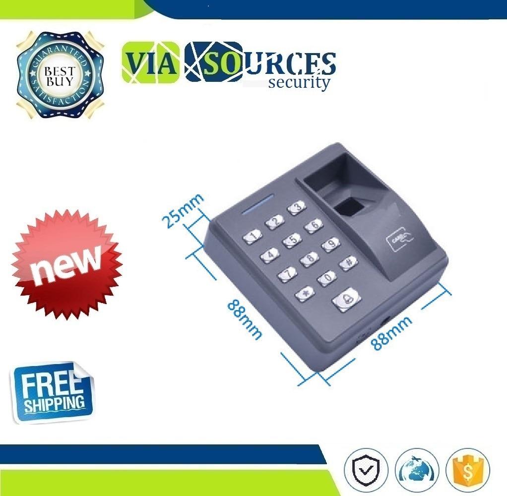 Fingerprint Access Control Machine With Keypad Fingerprint Scanner For RFID Door Access Control System Automation Home SecurityFingerprint Access Control Machine With Keypad Fingerprint Scanner For RFID Door Access Control System Automation Home Security