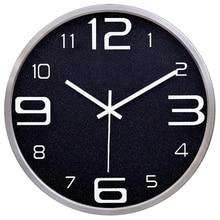 Modern Clock Wall Watches Home Decor Vintage Nordic Design Secret Stash Barber Shop Watch Mechanism Klok 3d Large Kitchen 50Q097
