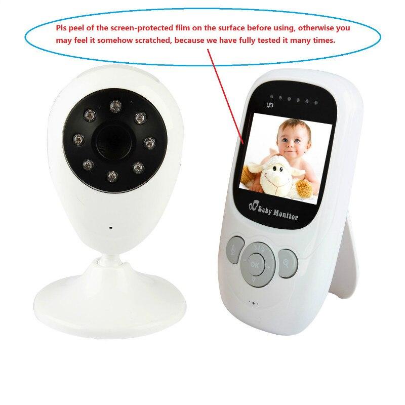 2,4 tums sova skärm LCD Night Vision IR Trådlös digital babyfoon - Barnsäkerhet - Foto 6