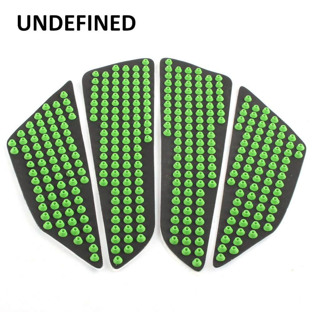 Impartial Undefined New Universal Motorcycle Accessories Green Tank Traction Side Pad Knee Grip Protector Decals Stickers Rubber Ddd156 New Varieties Are Introduced One After Another Decals & Stickers