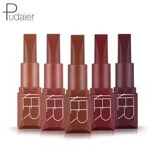 Pudaier 5 Color Lip Gloss Waterproof Long Lasting Hot Sexy Tint Matte Liquid Lipstick Liner Pen Makeup Cosmetics