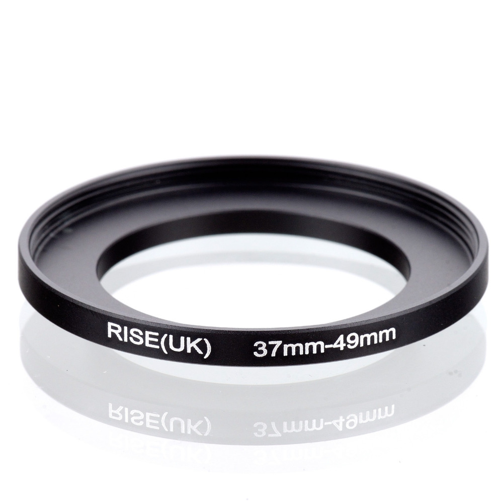 10psc wholesale original RISE(UK) 37mm-49mm 37-49mm 37 to 49 Step Up Ring Filter Adapter black