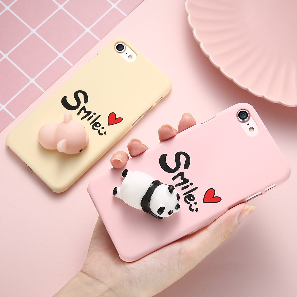 Squishy Cat Phone Case Iphone Se : KISSCASE Cases For iPhone 7 Case iPhone 6 6s 5S SE 5 Cute 3D Squishy Cat Paw Seals Silicon TPU ...