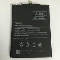 100 Original Backup New BM47 Battery 4000 MAh For Xiaomi Redmi 3X Hongmi 3 S Battery