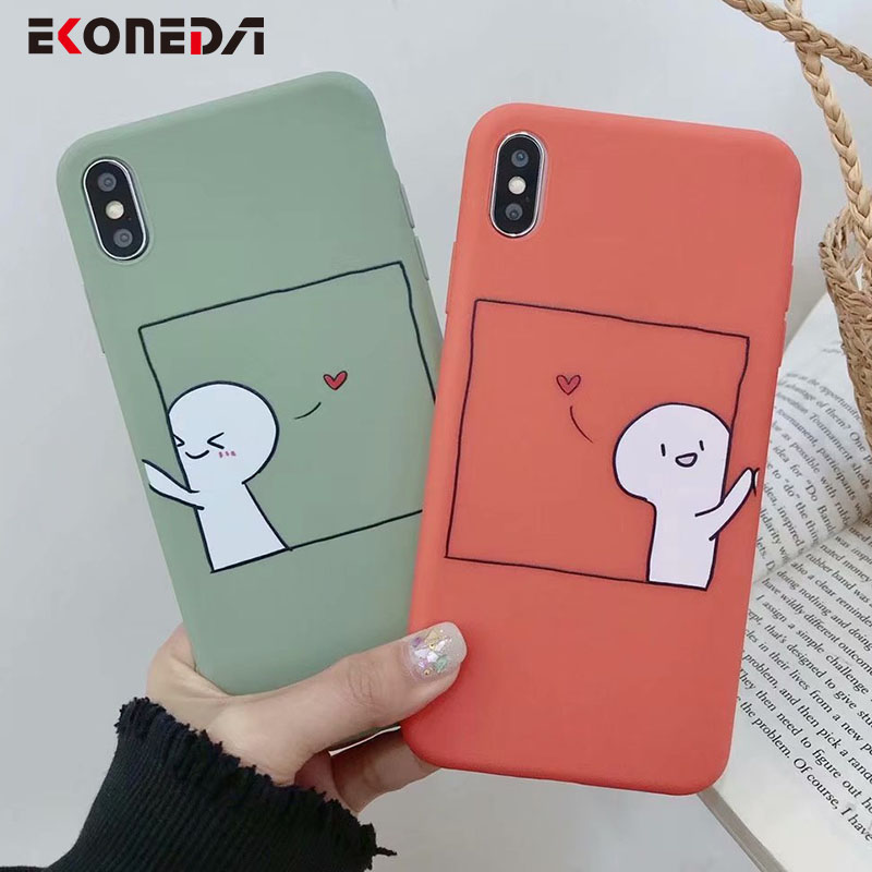 New Fashion We Bare Bears Super Cute Couple Cartoon Panda Matte Case For Iphone X Xs Max Xr 6 6s 7 8 Plus Soft Silicone Cover Telefon Kilifi In Short Supply Phone Bags & Cases